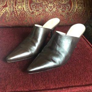 Antonio Melani leather mules